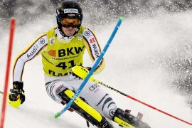 Alpine Skiing: Frame calendar set for Tony Tremell and Marlene Schmötz