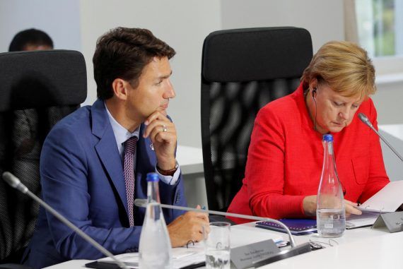 Angela Merkel apparently complains to Canadian Prime Minister Trudeau