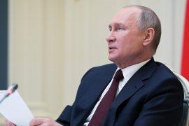 But not in Ukraine: Putin is ready to meet Zelensky