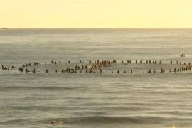 Byron Bay: Protest against Netflix series in Australian surfer's paradise