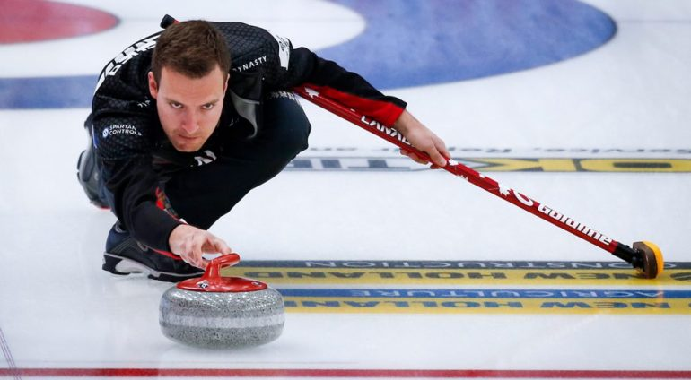 Canada opposite Switzerland in men's curling world championship