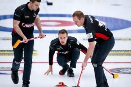 Canadian Brendan Butcher remains undefeated in curling world