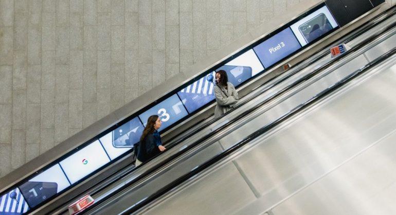 DooH im Londoner Untergrund (Foto: TfL)