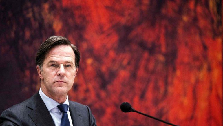 Dutch Prime Minister Mark Rutte faces decline