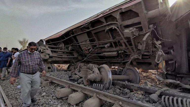 Egypt: Eight wagons derailed - eleven dead and a dozen injured