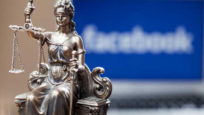 Justitia's picture, Facebook's focus behind it
