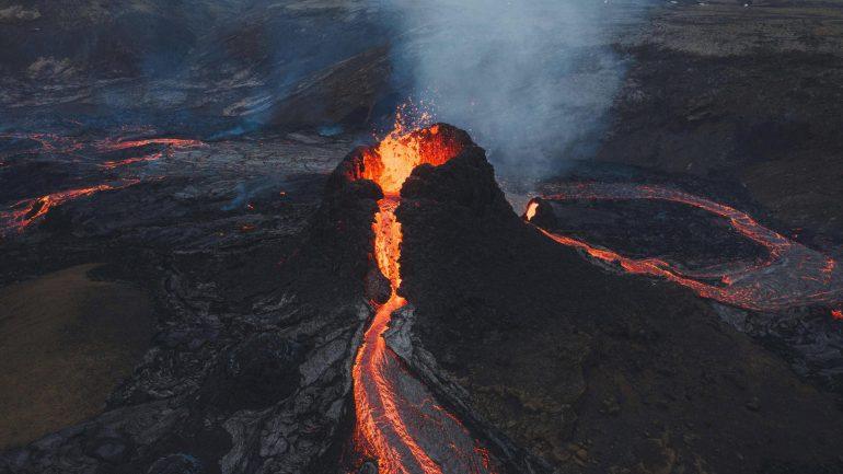 Fagradalsufjal volcano in Iceland: Hiker fell into rift?