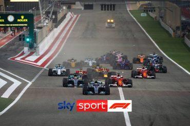 """""""Deine Formel 1 hat ein neues Zuhause"""" - Sky Sport F1 startet am 12. März."""