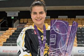 "Ice Hockey - ""This title is the most important"": Noimi Ryhner from Jug is Swiss Champion with Lugano"