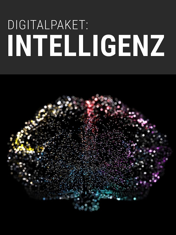Science Digital Package Booklet Cover Spectrum: Intelligence