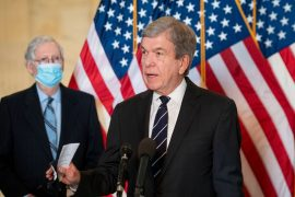 "Joe Biden's infrastructure program suggests Republican Roy Blunt ""compromise""."