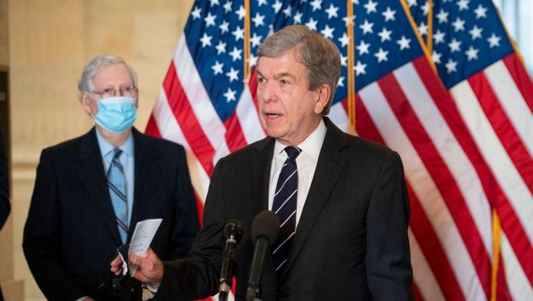 """Joe Biden's infrastructure program suggests Republican Roy Blunt """"compromise""""."""