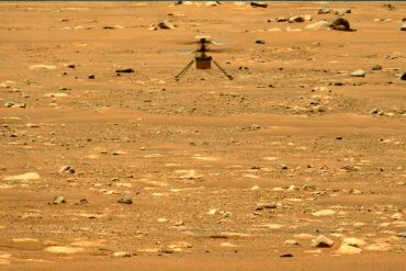 """Mars helicopter """"Ingenuity"""" flies for the third time on Mars"""