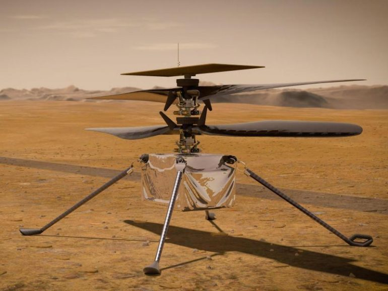 Mars helicopter should start as soon as possible on April 11 - Science