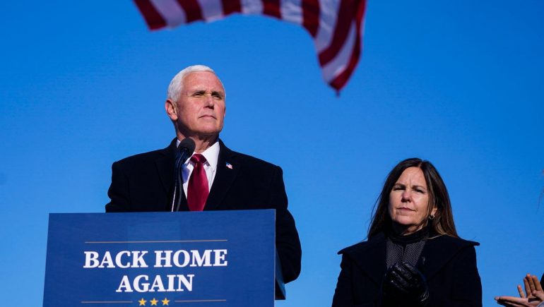 Mike Pence: Former US Vice President has been fitted with a pacemaker