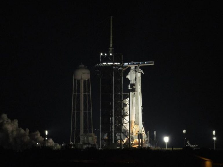 """Start with """"Crew Drew"""" ISS - Postponed to Science"""