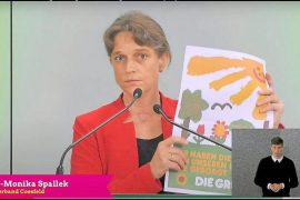 The promise of a place on the list for the Greens was Drs.  From Anne-Monica Spleck Billerbeck: Chance of Bundestag - Kosfeld District