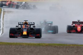 Verstappen wins wild race - Schumacher fights back