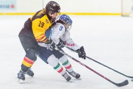 Wolfsburg's Ice Hockey Ace Fine Ruske: Two wins, but World Cup tickets continue to tremble