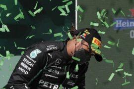 Hamilton puts Verstappen at a distance
