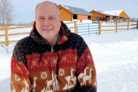 Canadian farmer Hans is enough to live alone