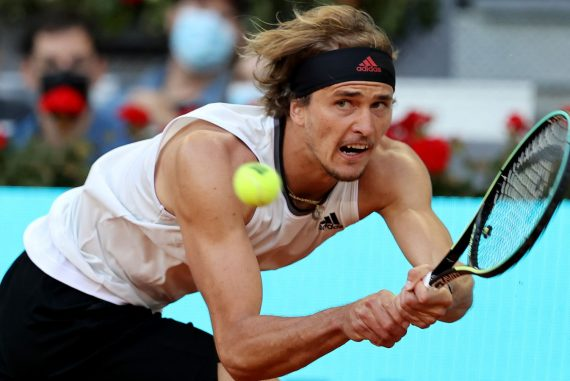 Tennis News: Alexander Zverev straddles Daniel Evans in Madrid Tennis News