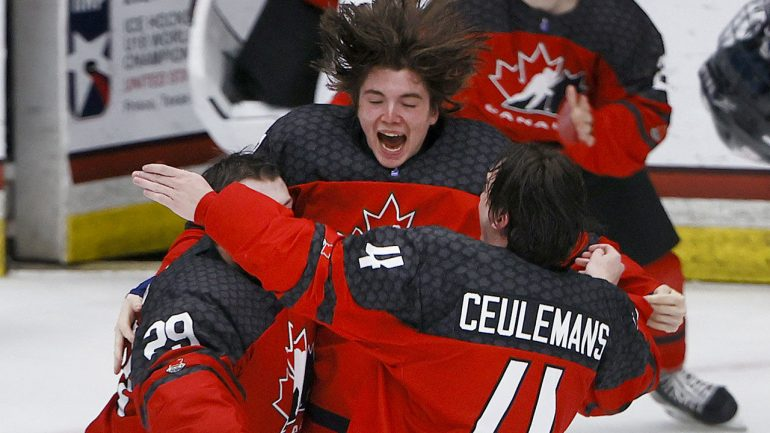 Ice Hockey: Canada U18 World Champion for the first time since 2013 - Winter Games