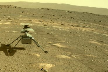 """""""Ingenuity"""": NASA publishes sound recordings of Mars flight for the first time"""