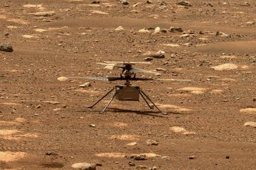 listen!  What does a helicopter look like on mars