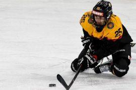 Eishockey-Nationalspielerin Laura Kluge (Quelle: imago images/nordphoto GmbH/Hafner)