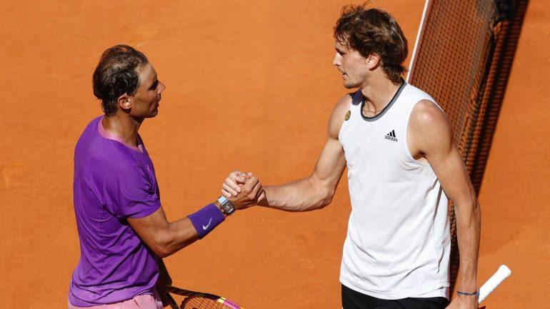 Tennis News: Alexander Zverev met Rafael Nadal in Rome |  Tennis news