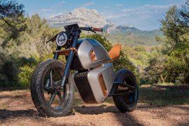 Nava Bike with Bi-Battery: Slightly Different Cafe Racer
