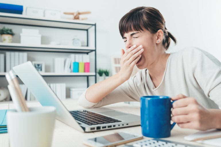 Does caffeine help with cognitive problems caused by lack of sleep?  - treatment practice