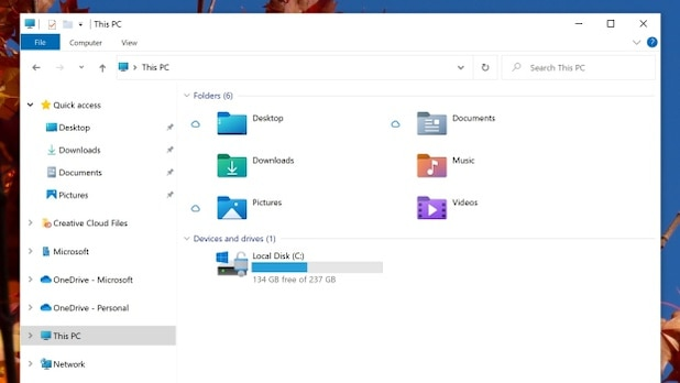 Microsoft introduces new icons for Windows 10.