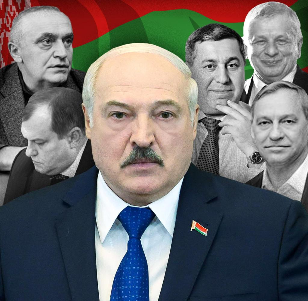 The President supports those who are among Lukashenko's closest confidants