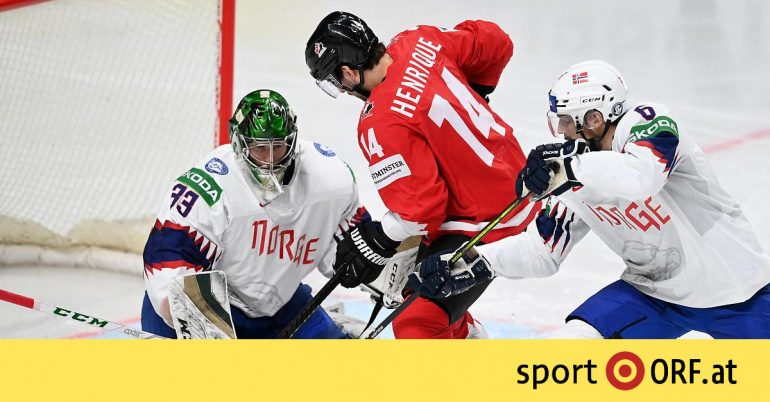 Ice Hockey World Cup: Canada is writing to Latvia for the first time