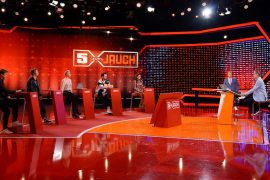 """""""5 Against Jauch"""": Sonja Zitlow and Jana Ina Zarela Tampon With Discussion - TV"""