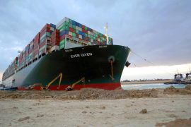 After a ship: Egypt is widening the Suez Canal