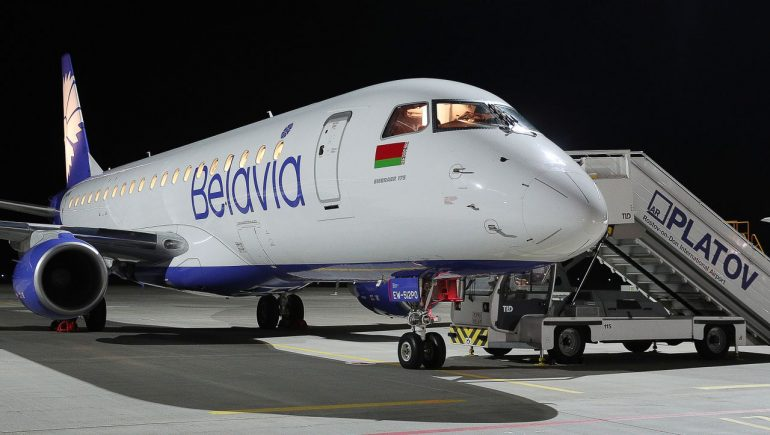 """Belarus accuses France of """"air piracy"""" after turning aircraft over"""