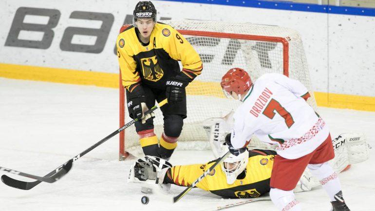 Bergfelder Leon Gawanke Wants to Give in Ice Hockey World Championship