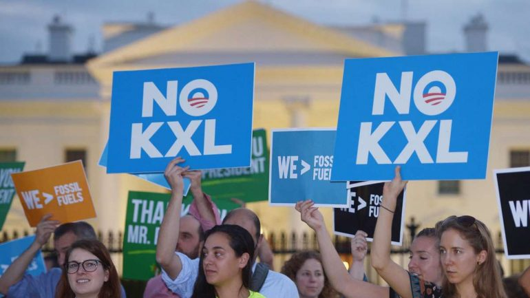 Biden pipeline construction shutdown economy