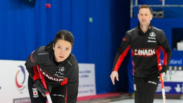 Canada wins Olympic berth in mixed double curling in Beijing