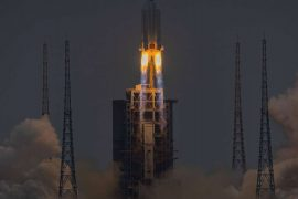 Chinese rocket: Space debris falls uncontrollably towards Earth