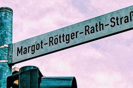 Comment on women's street names.  sword