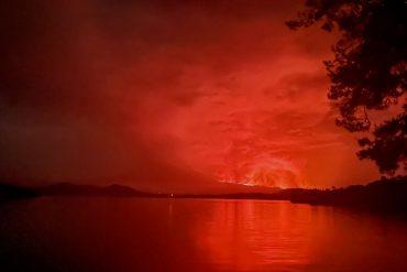 Congo - Nyaragongo Volcano: Panic erupts by volcanic eruption - Rwanda opens border