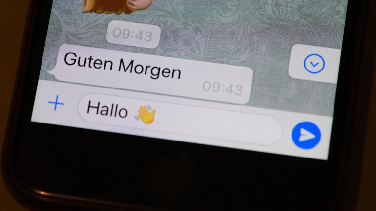 Emoji for Refugees appeared in the beta version