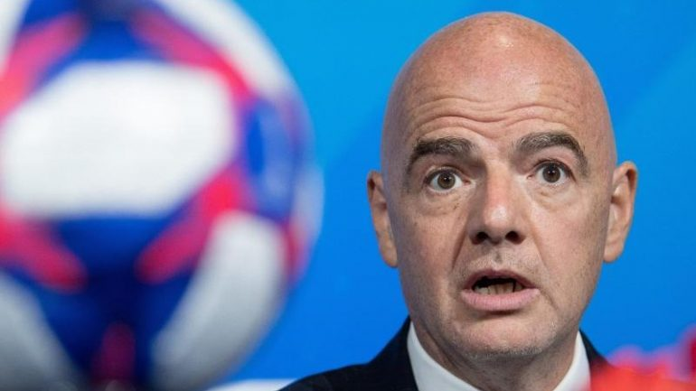 """Football - Infantino and """"blank sheet"""" - change plans - sports"""