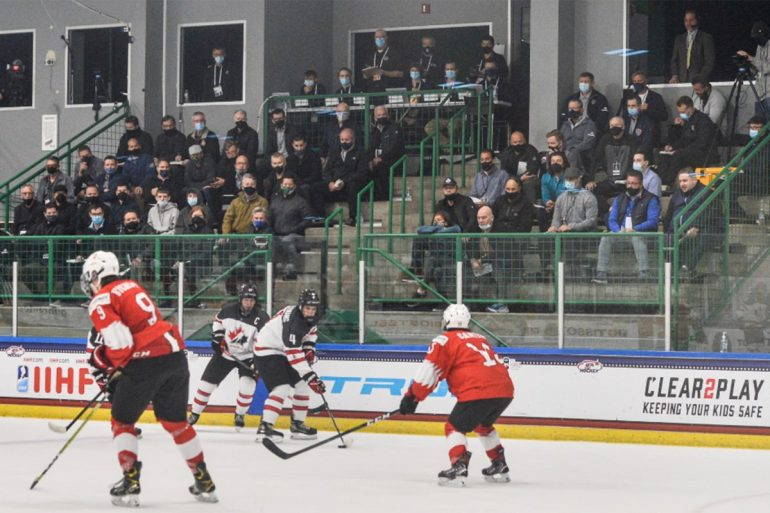 Former Warriors' team Solman had three points of victory over Switzerland in Canada's Under-18s