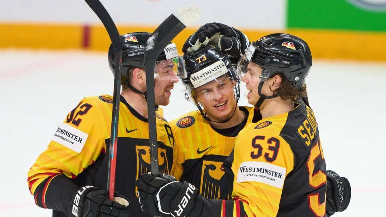 Ice Hockey World Cup: Germany-Canada today in live ticker- sensation before DEB team?