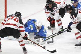 Latvia loses - puts pressure on Canada.  free Press
